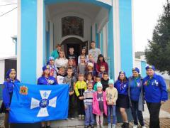 Руководители отряда Братства православных следопытов пгт. Темиртау посетили воскресную школу в пгт. Мундыбаш