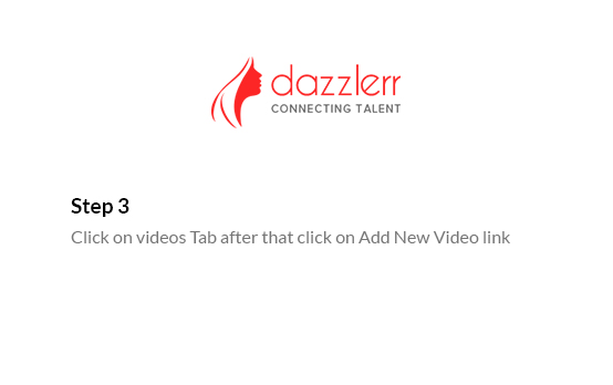 Dazzlerr : Video Step 5