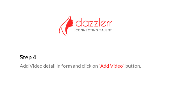Dazzlerr : Video Step 7