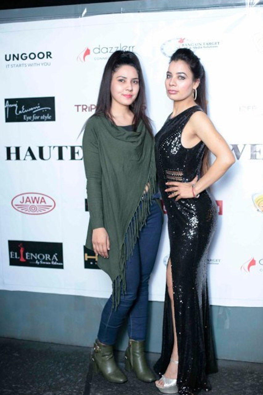 Dazzlerr :Pre-Launch of Haute Fashion Week 2019