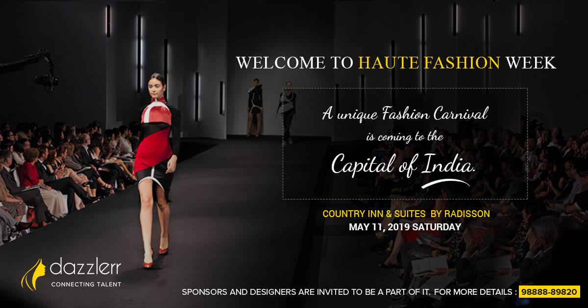 Dazzlerr : Haute Fashion Show calling Designers & Sponsors