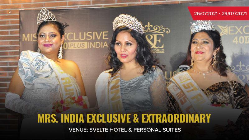 Dazzlerr :: Mrs India Exclusive & Extraordinary