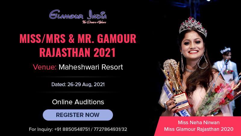 Dazzlerr :: Miss/Mrs. Glamour India 2021 Prince & Princess Glamour Rajasthan 2021