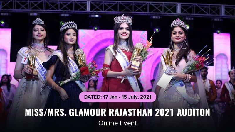 Dazzlerr :: Miss/Mrs. Glamour Rajasthan 2021 Auditon