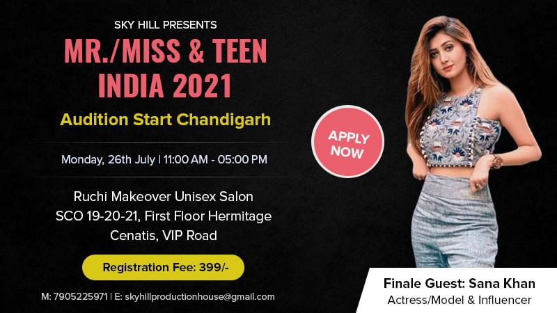 Dazzlerr :: MR. MISS & TEEN INDIA NEXT STAR MODEL 2021