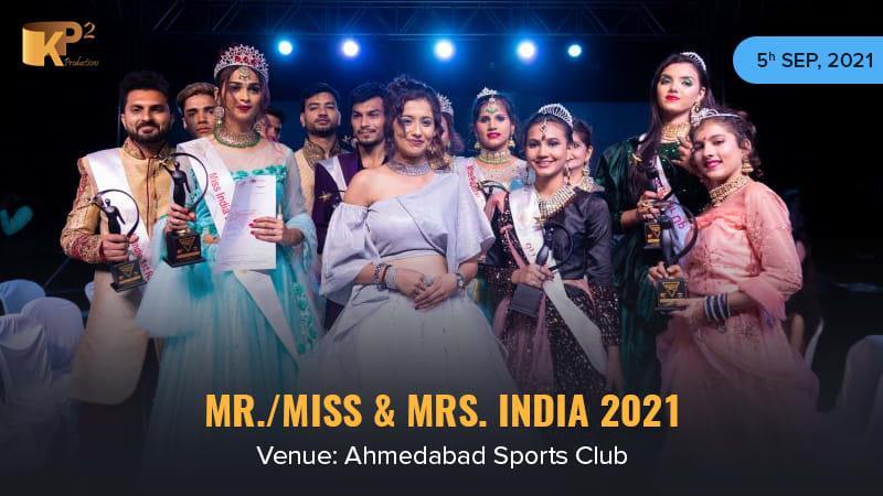Dazzlerr :: Mr Miss Mrs India 2021 Ahmedabad