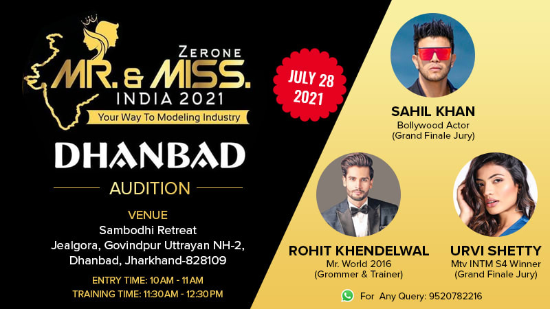Dazzlerr :: Mr and Miss India 2021 Dhanbad Audition