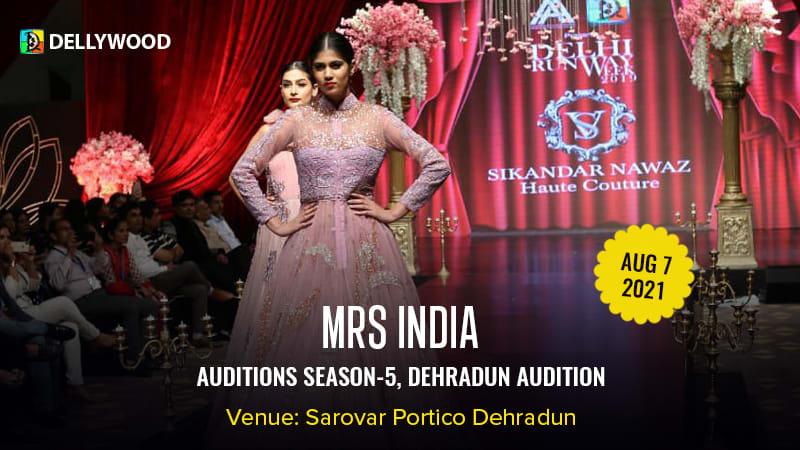 Dazzlerr :: Mrs. India Season 5 Dehradun Audition