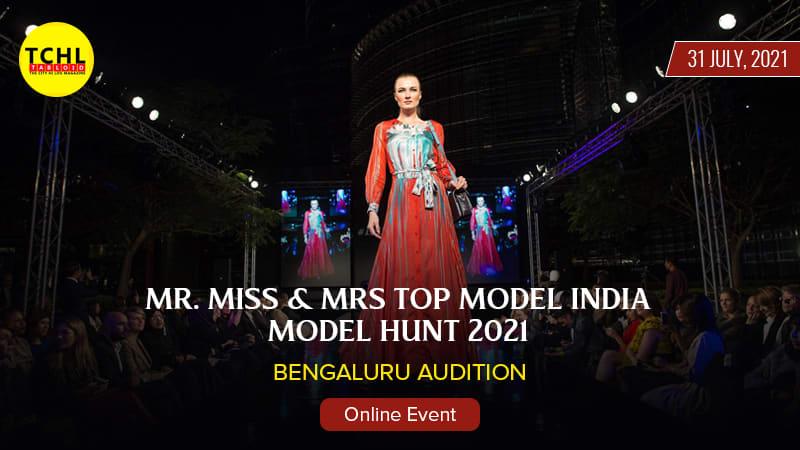 Dazzlerr :: Mr Miss & Mrs Top Model India Model Hunt 2021 Bengaluru Aaudition