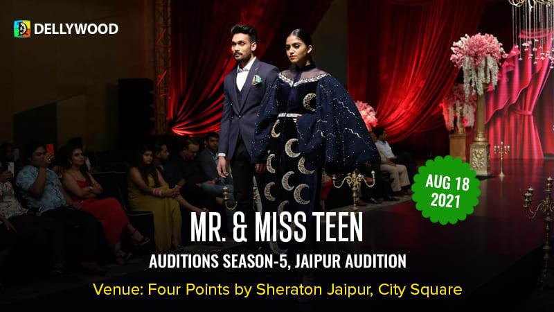 Dazzlerr :: Mr & Miss Teen Season 5 Jaipur Audition