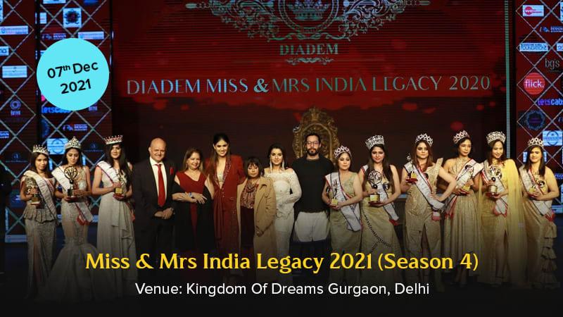 Dazzlerr :: Miss & Mrs India Legacy 2021 (Season 4)
