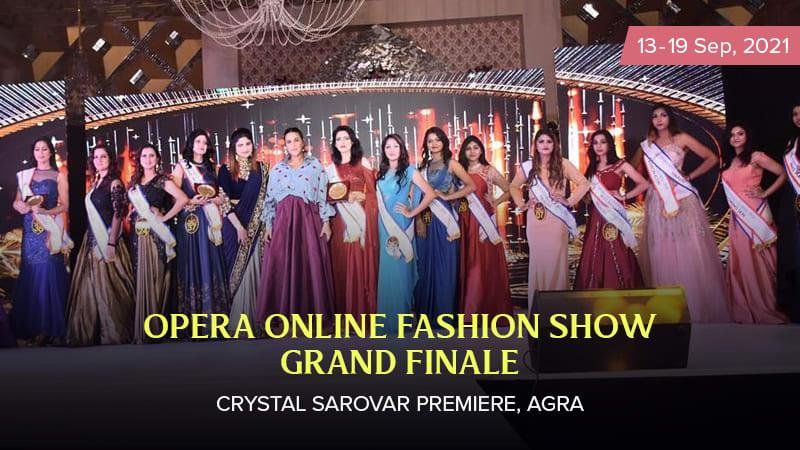 Dazzlerr :: Opera Online Fashion Show Grand Finale