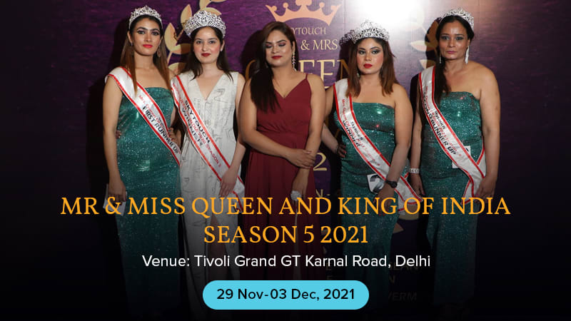 Dazzlerr :: Mr & Miss queen and king of india season 5 2021