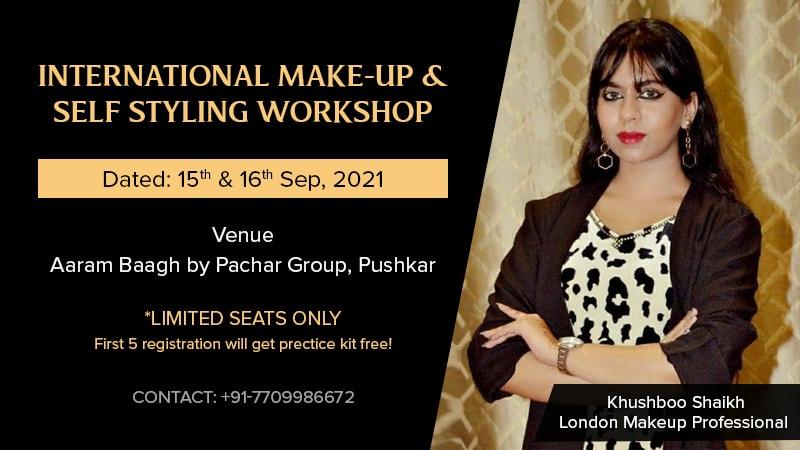 Dazzlerr :: International Make-up & Self Styling Workshop