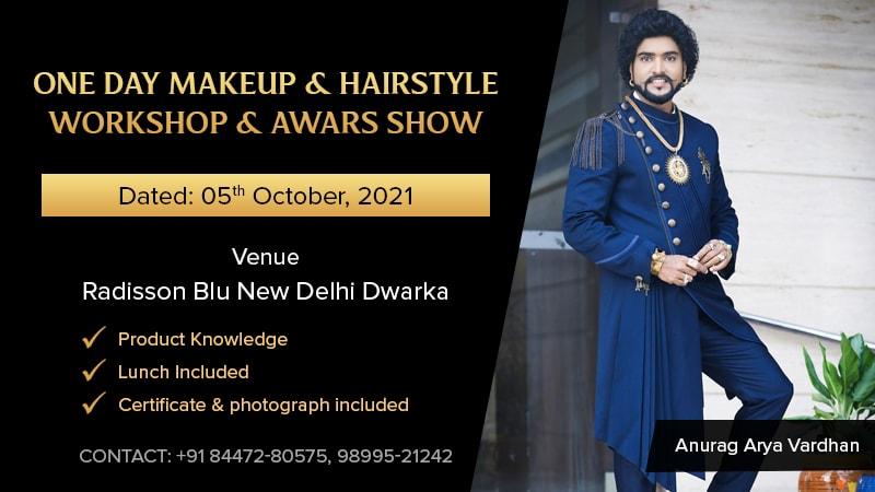 Dazzlerr :: One Day Makeup & Hairstyle Workshop & Awars Show