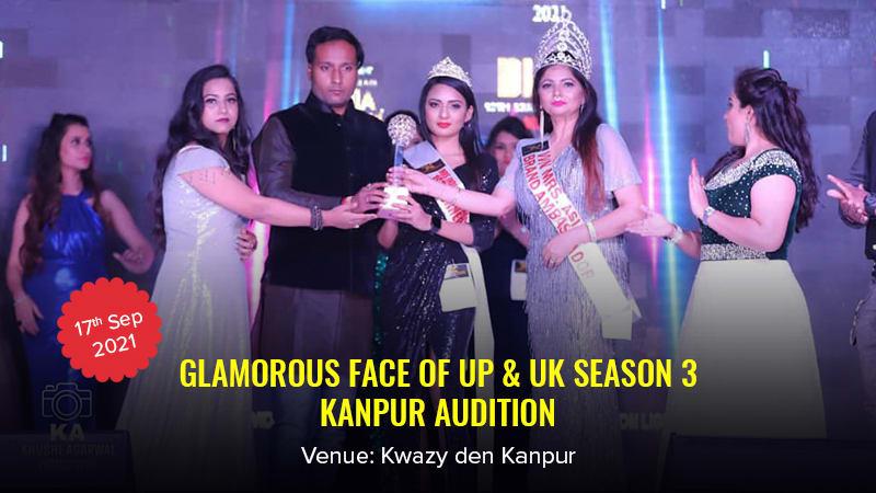 Dazzlerr :: Glamorous Face of Up & UK Season 3 Kanpur Audition