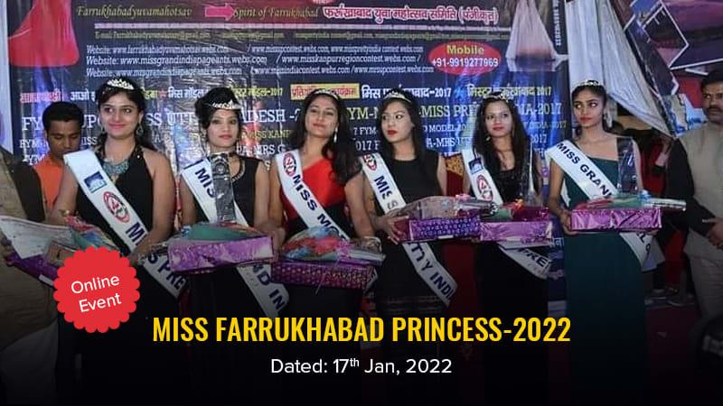 Dazzlerr :: Miss Farrukhabad Princess-2022