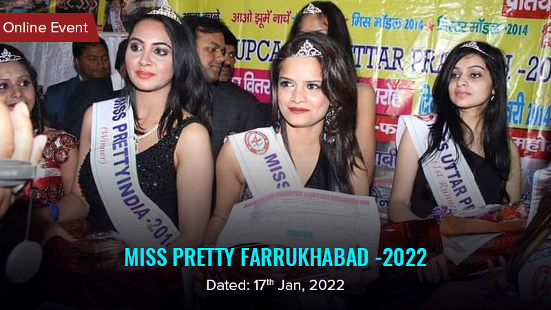 Dazzlerr :: Miss Pretty Farrukhabad -2022