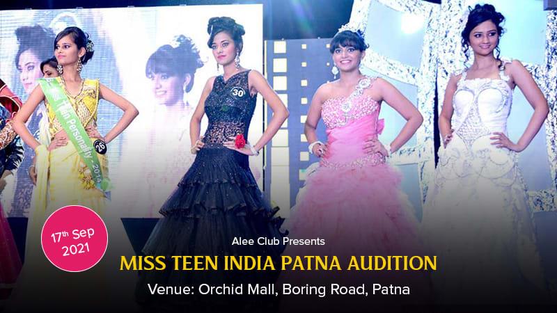 Dazzlerr :: Alee Club Miss Teen India Patna Audition