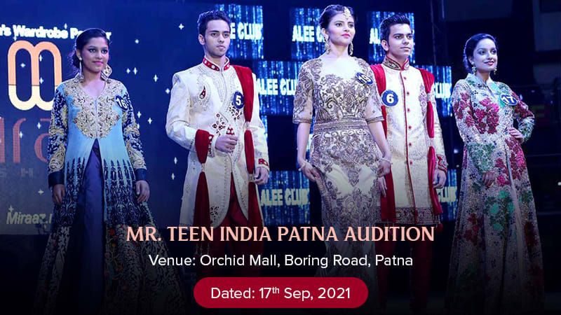 Dazzlerr :: Alee Club Mr Teen India Patna Audition