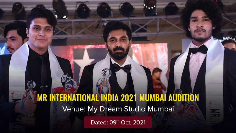 Dazzlerr :: Mr International India 2021 Mumbai Audition