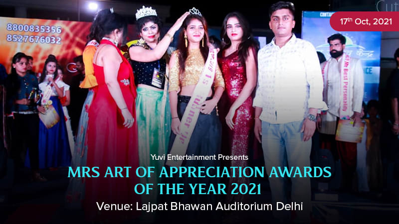 Dazzlerr :: Mrs Art of Appreciation Awards of The Year 22021