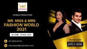 Dazzlerr :: Mrs India 2021 - Skywalk Productions
