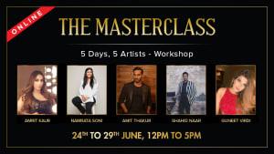 Dazzlerr :: The Masterclass 5 Days 5 Artist - Workshop