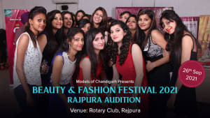 Dazzlerr :: Beauty & Fashion Festival 2021- Rajpura Audition