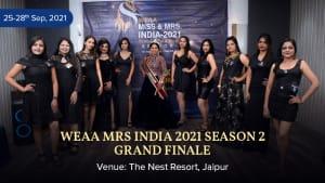 Dazzlerr :: WEAA Mrs India 2021 Season 2 Grand Finale