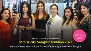 Dazzlerr :: Mrs Tricity 2021 Sangrur Audition