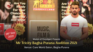 Dazzlerr :: Mr Tricity 2021 Bagha Purana Audition