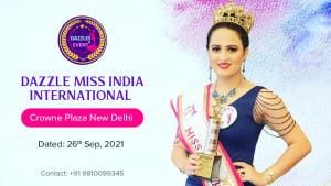 Dazzlerr :: Dazzle Miss India International