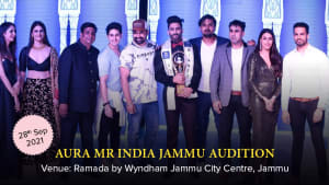 Dazzlerr :: Aura Mr India Jammu Audition