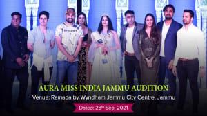 Dazzlerrr :: Aura Miss India Jammu Audition