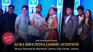 Dazzlerr :: Aura Mrs India Jammu Audition