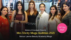 Dazzlerr :: Mrs Tricity 2021 Moga Audition