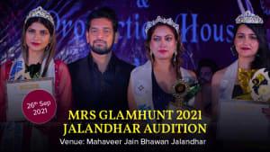 Dazzlerr :: Mrs Glamhunt 2021 Jalandhar Audition