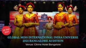 Dazzlerr :: Global MIss International India Universe 2021 Bangalore Audition