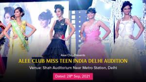 Dazzlerr :: Alee Club Miss Teen India Delhi Audition