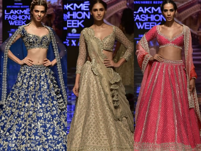 """Dazzlerr: """"The Blockbuster Bride"""" Collection Launched by Anushree Reddy And Arpita Mehta At Lakmé Fashion Week 2019"""