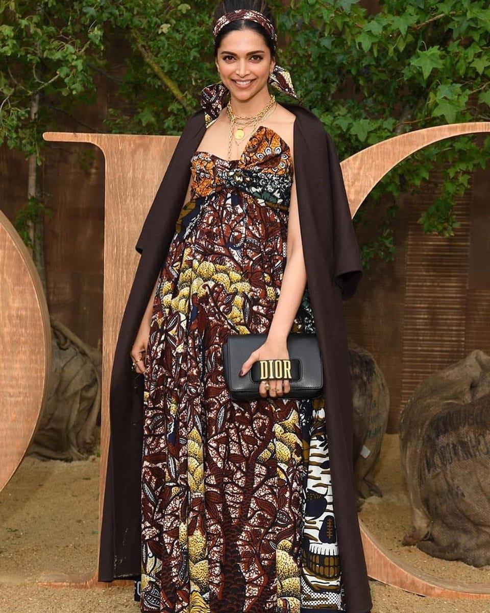 Dazzlerr: Deepika Padukone's Outfit at Dior Show in Paris is Fashion Goals