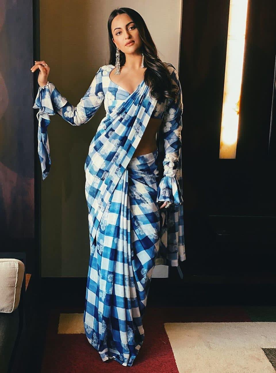 Dazzlerr: Tara Sutaria and Sonakshi Sinha Acing the Saree Game