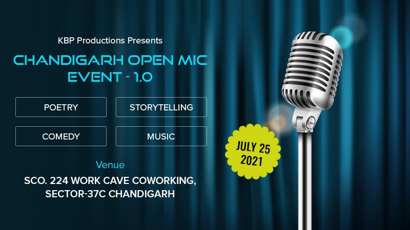 Dazzlerr :: Chandigarh Open Mic Event