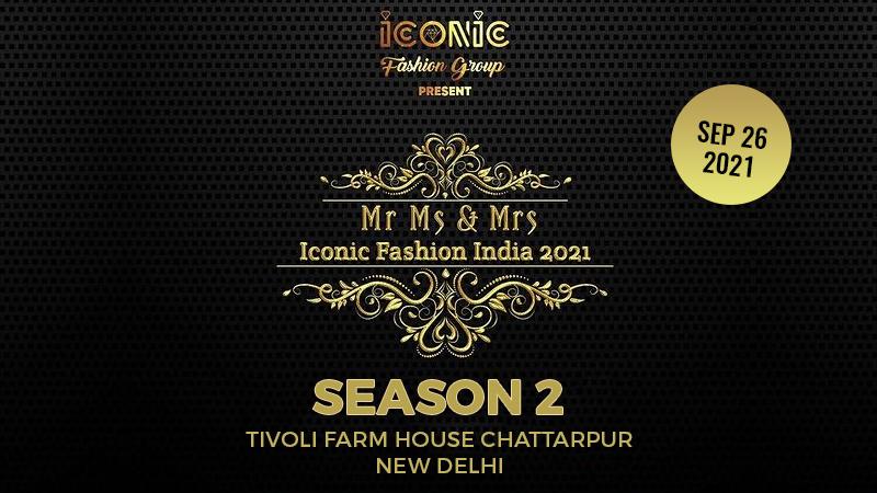 Dazzlerr :: Mr. And Ms. Iconic Fashion India 2021 Season 2