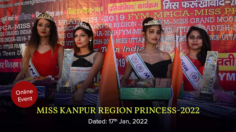 Dazzlerr :: Miss Kanpur Region Princess-2022