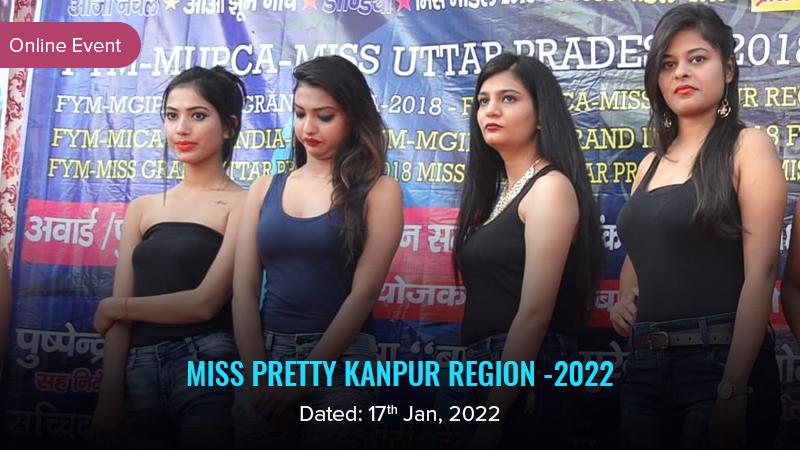 Dazzlerr :: Miss Pretty Kanpur Region -2022