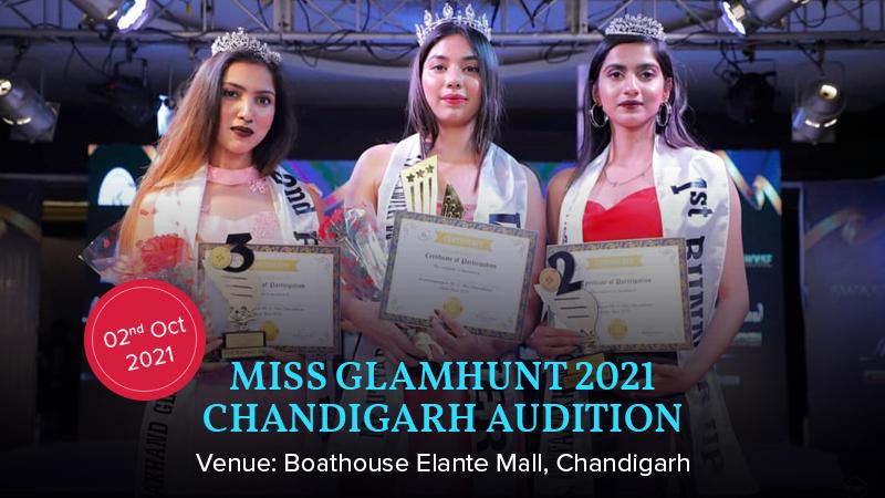 Dazzlerr :: Miss Glamhunt 2021 Chandigarh Audition