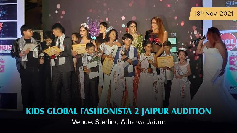 Dazzlerr :: Kids Global Fashionista 2 Jaipur Audition
