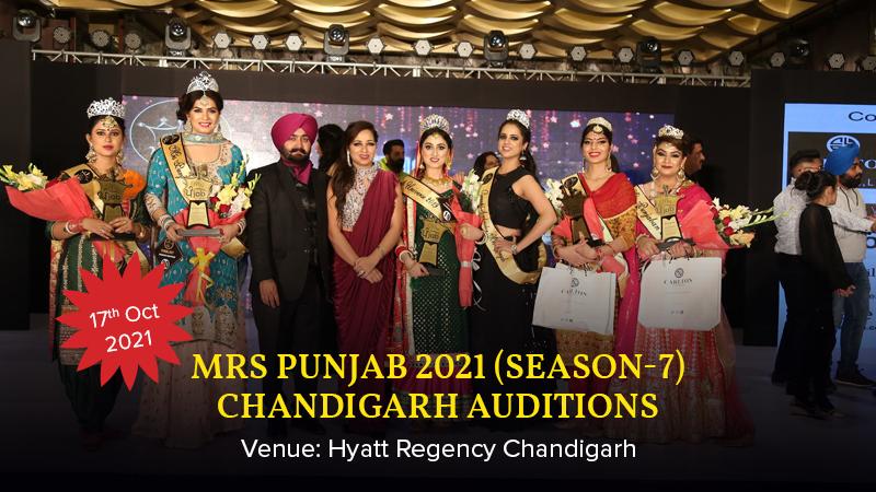 Dazzlerr :: Mrs Punjab 2021 (Season-7) Chandigarh Auditions